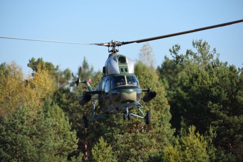 На Черниговщине провели испытания Ми-2МСБ