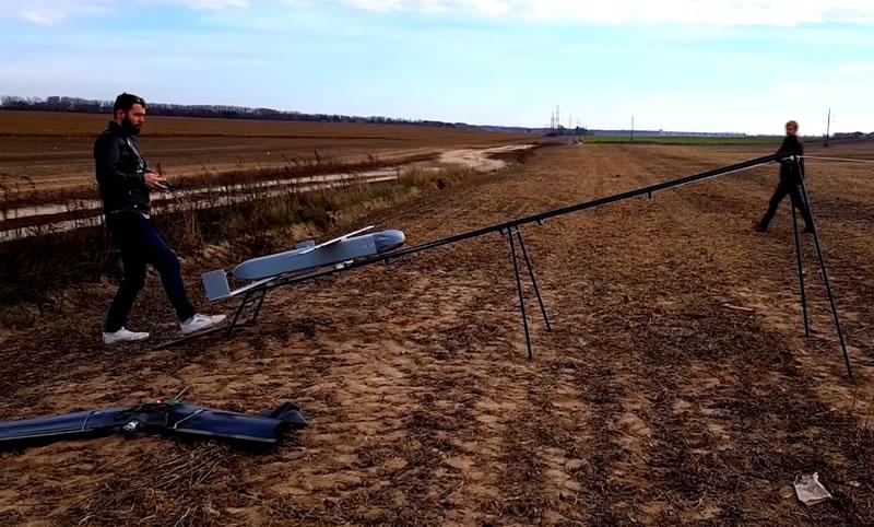В Украине испытали дрон-камикадзе