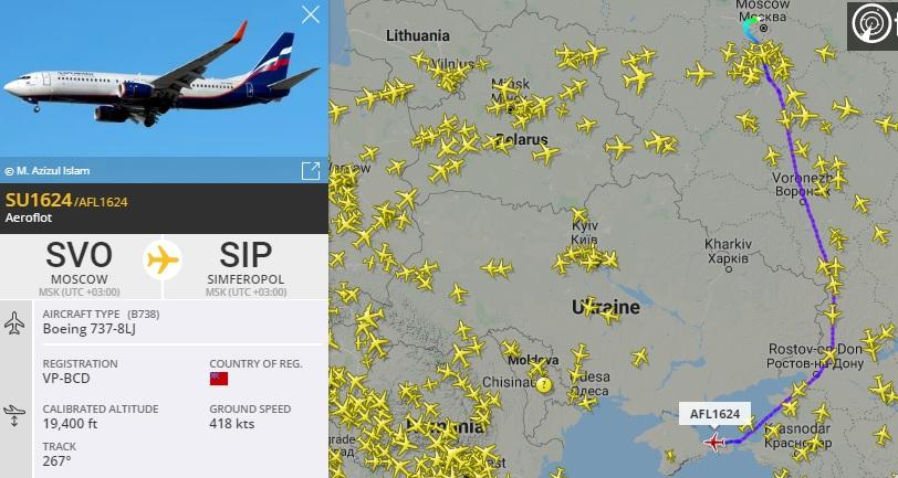 У России более 200 тыс. нарушений воздушного пространства Украины