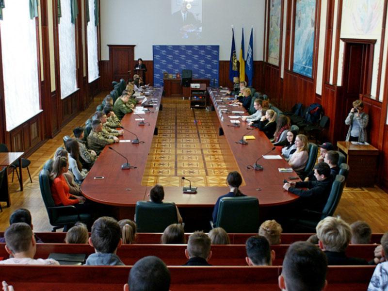 Авиамузей принял участие в Круглом столе НАУ к 130-летию Сикорского