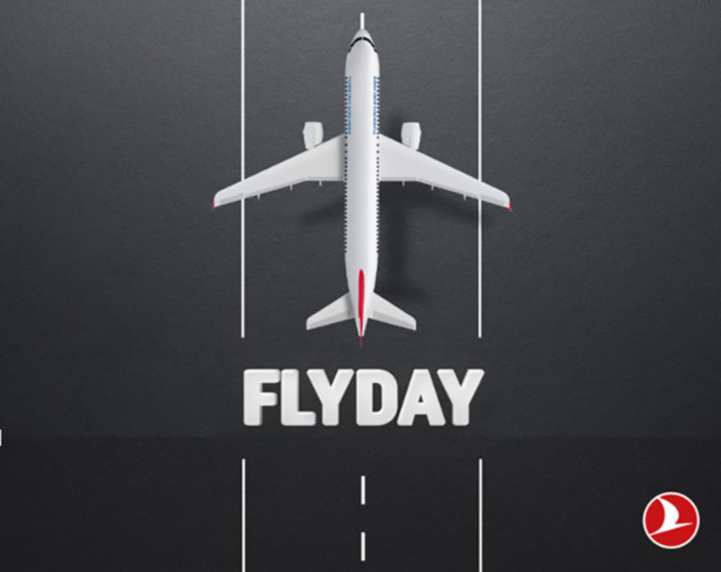 Friday Flyday  с Turkish AirLines