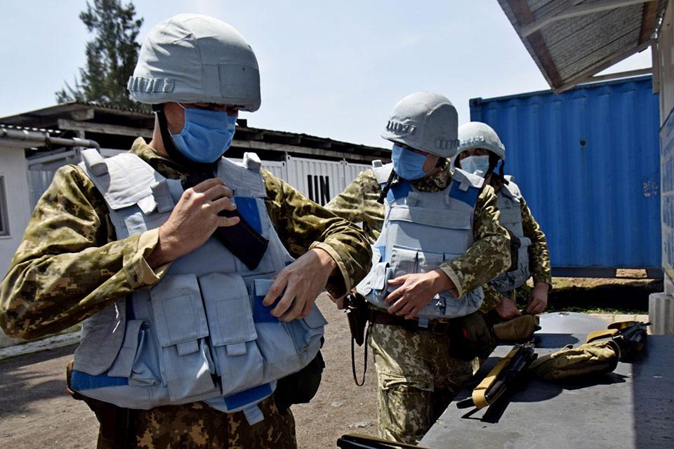 Украинские миротворцы в Конго проверили готовность противостоять террористам