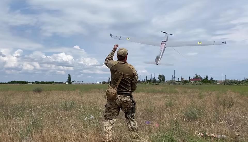 Пограничники Херсонского отряда активно используют беспилотники
