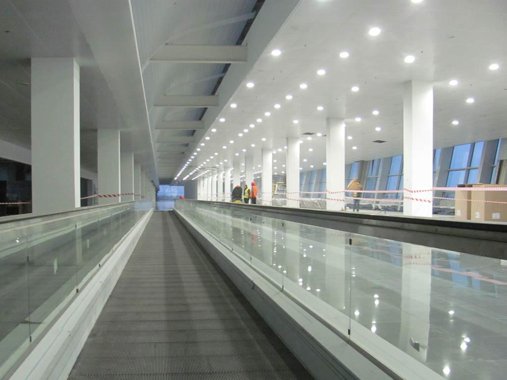 """В терминале """"D"""" аэропорта """"Борисполь"""" продолжаются тестовые испытания"""