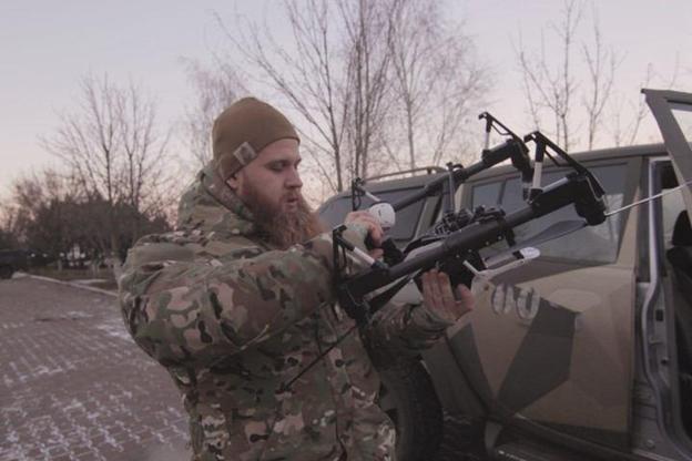 Усилиями волонтеров на вооружение полка «Азов» поступил новый квадрокоптер DJI Inspire 1