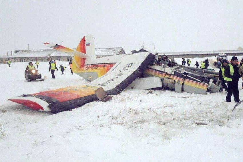 О катастрофе самолёта ТВС-2МС