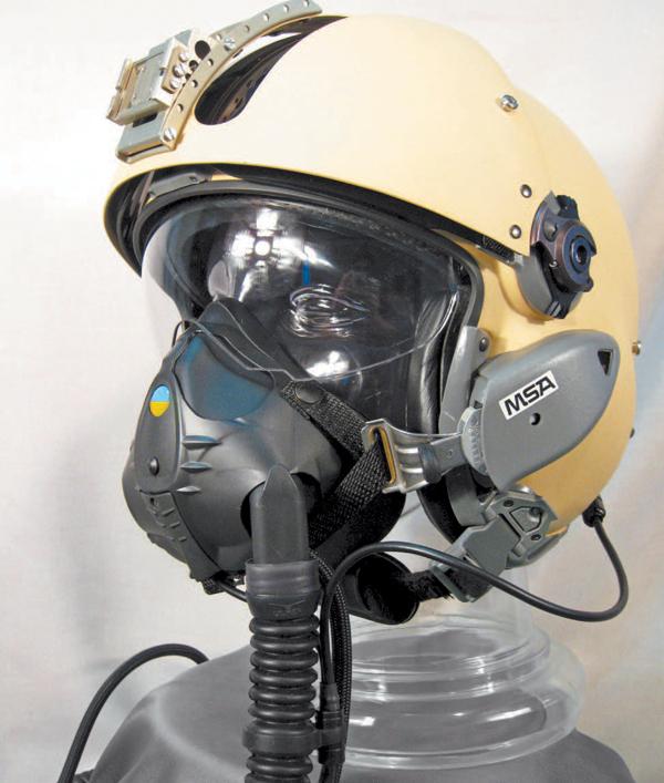 Французские шлемы для украинских пилотов