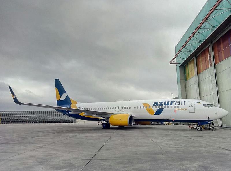 Azur Air Ukraine ждет новый борт