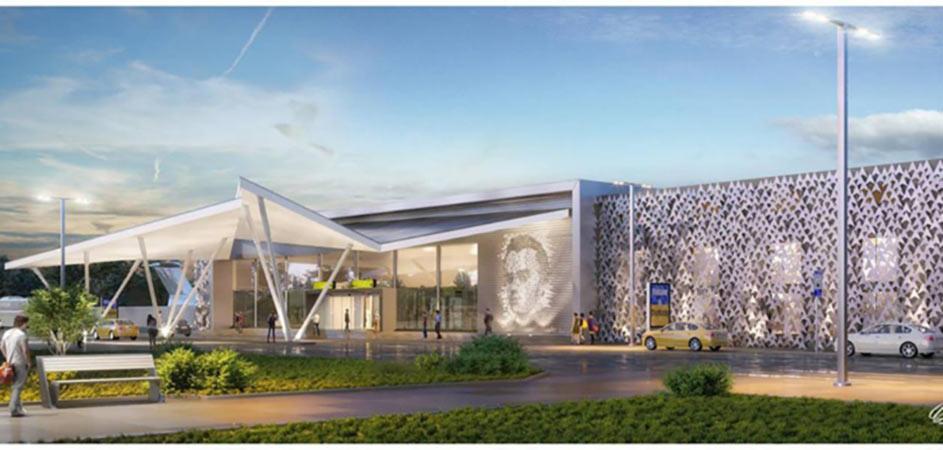 Проект терминала аэропорта Черкассы обсуждают в соцсети