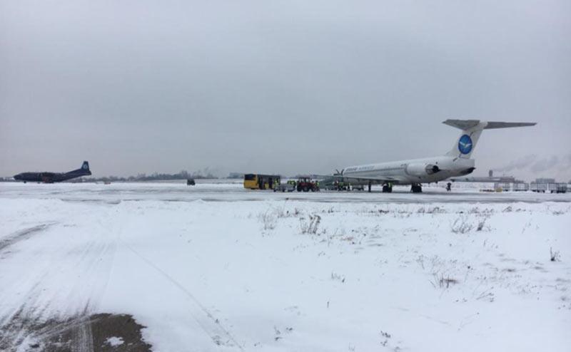 Аэропорт Черновцы опубликовал статистику за ноябрь