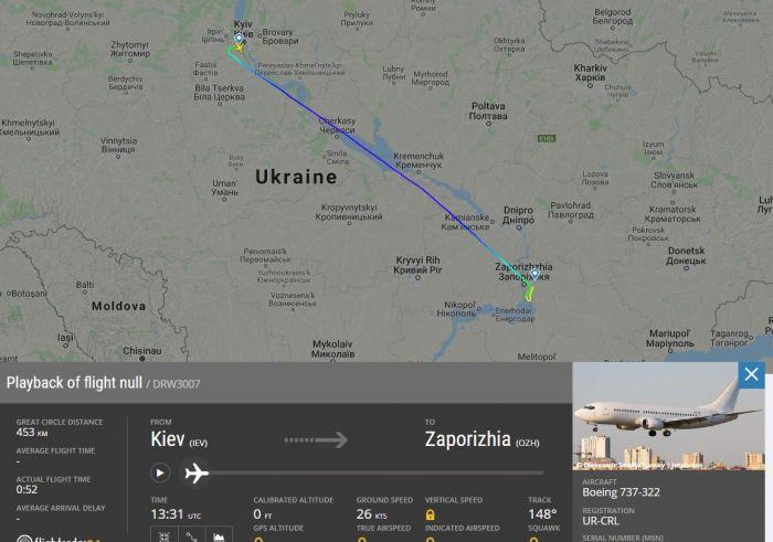 """""""Шахтер"""" летает на самолете новой украинской авиакомпании, и это не SkyUp"""