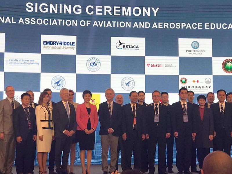 НАУ вступил в Международную ассоциацию авиационного и аэрокосмического образования