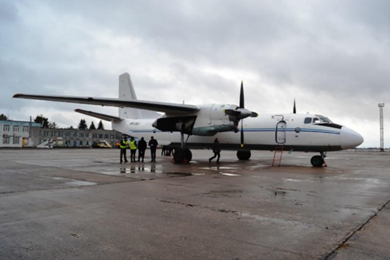 В аэропорту Ровно будут базироваться три транспортных самолета