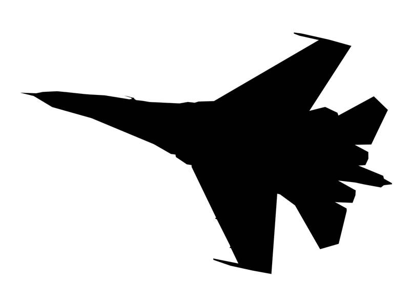Разбился Су-27