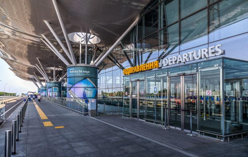 В терминале D аэропорта «Борисполь» достроили трансферную зону