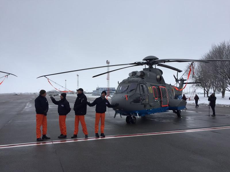 Еще два вертолета Airbus Украина получит через две недели