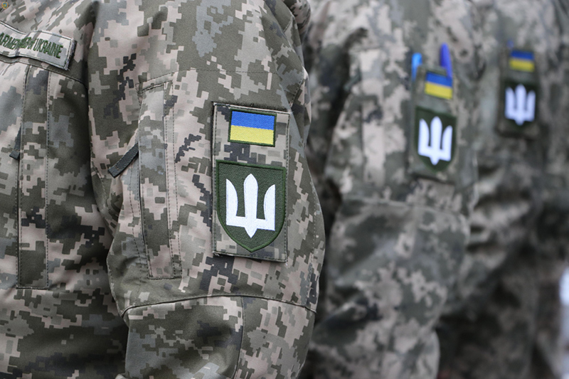 В Новом Калинове торжественно проводили украинских вертолетчиков