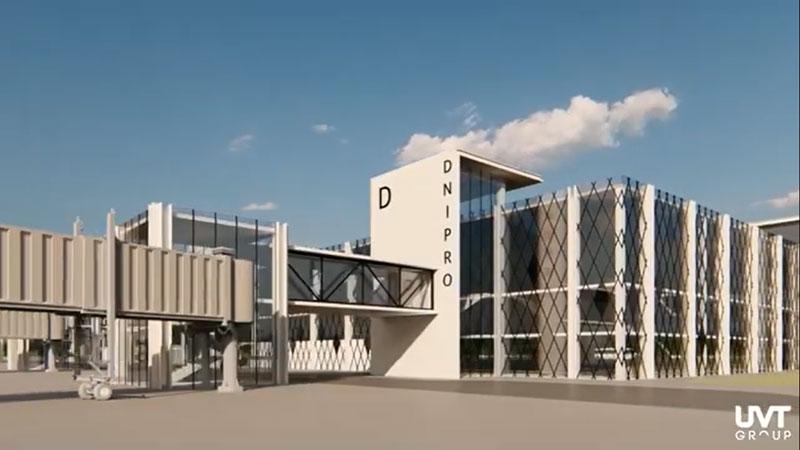 Планы аэропорта Днепра - увеличить пассажиропоток впятеро