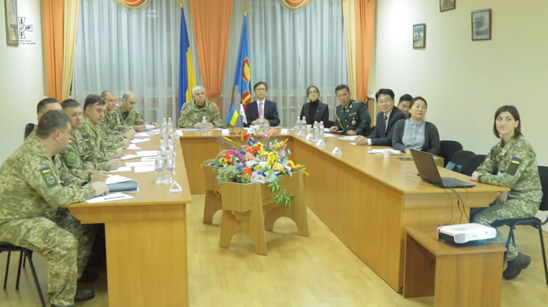 Делегация Республики Корея посетила Командование Воздушных Сил