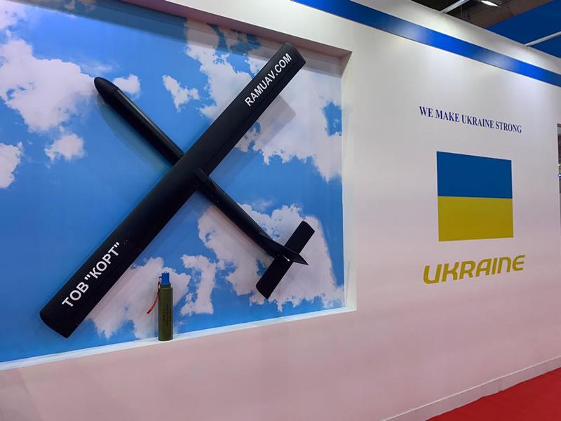 Украинские БПЛА были представлены в Кувейте