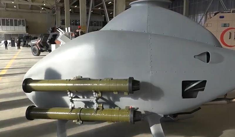 Грузия показала новый БПЛА с украинскими ПТУР