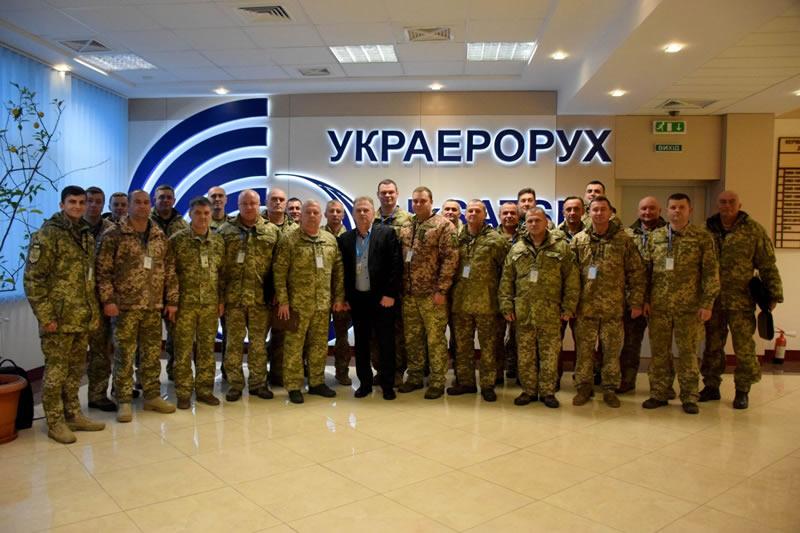 На Львовщине проходят сборы со специалистами ПВО
