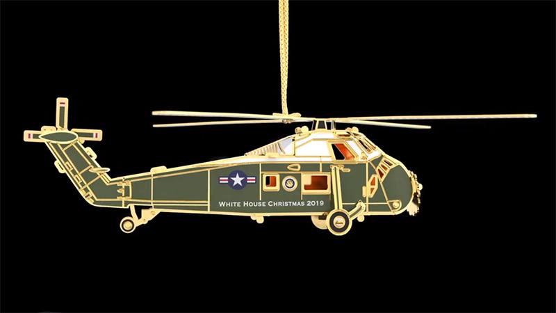 Рождественскую елку Трампа украсит вертолет Сикорского
