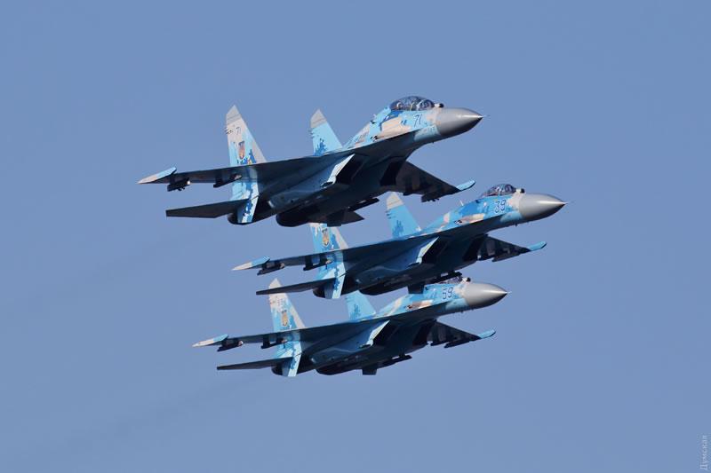 В Одессе Воздушные силы провели ротацию дежурного звена