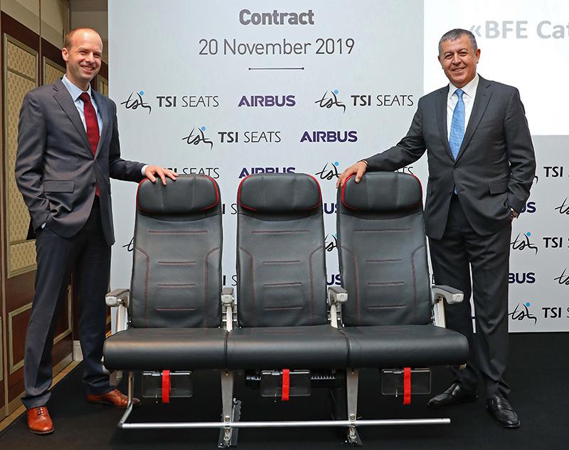 Авиакресла производства совместного предприятия Turkish Airlines вошли в каталог рекомендованного оборудования Airbus