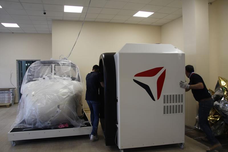 В НАУ начали монтаж современного авиатренажера