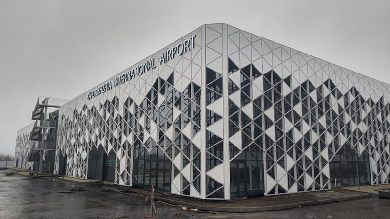Запорожский аэропорт побил прошлогодний рекорд по количеству пассажиров