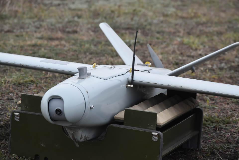 В 28 бригаде прошли учения с использованием беспилотников
