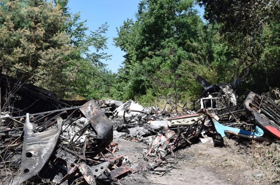 Причиной аварии с Ан-2 в Лохвицком районе комиссия считает бензин А-95