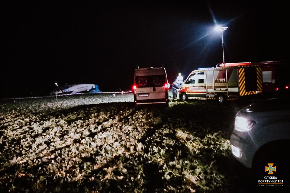 В декабре в Украине произошла одна авиакатастрофа