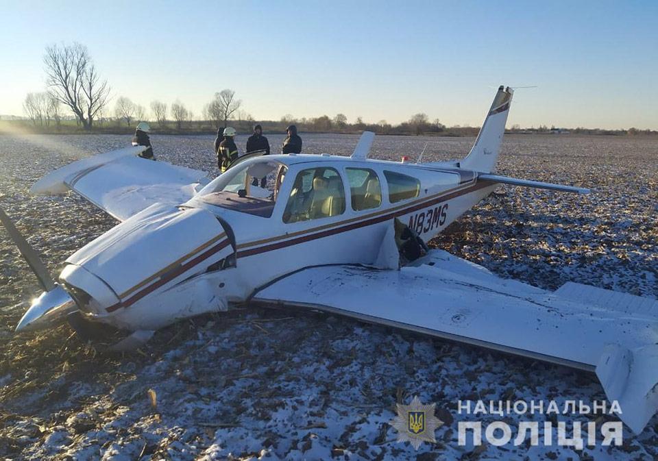 Самолет, который упал возле с.Гоголев, не принадлежит Gogolev-aero