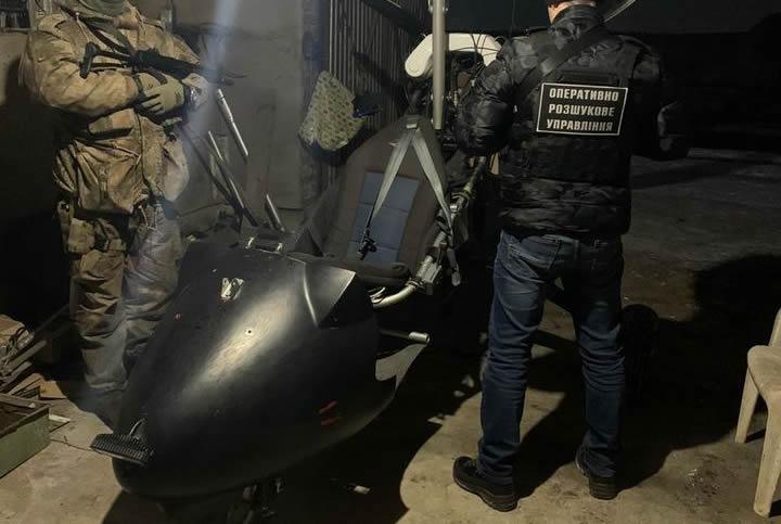 Пограничники обнаружили у контрабандистов еще один мотодельтаплан