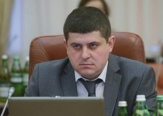 Министр инфраструктуры Максим Бурбак